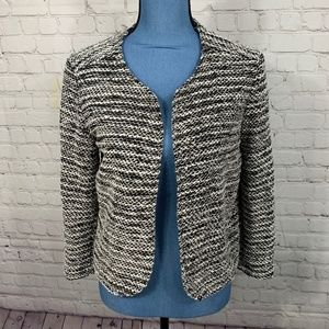 NWT Elodie Nordstrom Knit Open Front Blazer Size M